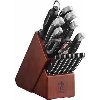 J.A. Henckels International Statement 15-pc Knife Block Set - Brown