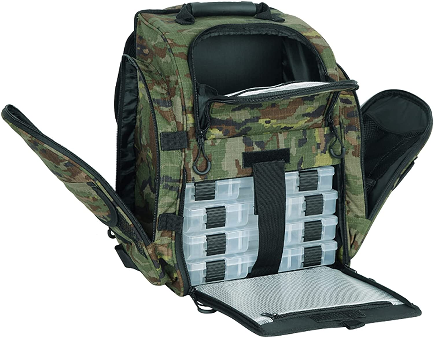 AUMTISC Fishing-Backpack Large Limited price sale 2021 new Tackle-Bag Protective Rain - with