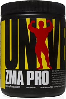 Universal Nutrition ZMA Pro Supplement - Zinc, Magnesium, Vitamin B6 - Nighttime Recovery Aid for Better Sleep