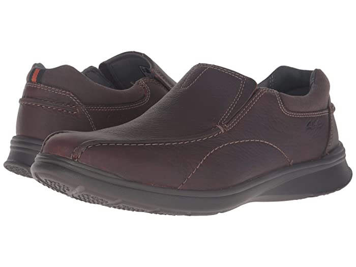 Clarks  Cotrell Step (Brown Oily Leather) Mens Shoes