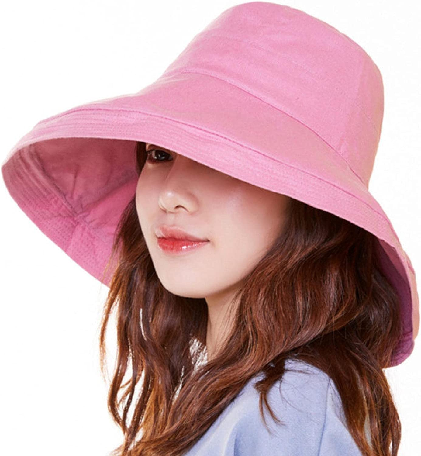 Hat Summer Double-Sided trust Time sale Color Matching Along Big Spring and The