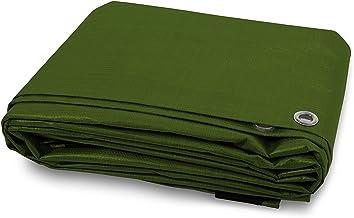 Casa Pura dekzeil PP/PE dekzeil waterdicht 90 g/m2 groen 2 x 3 m