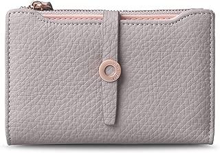 Women's Change Purse Leather Clasp Wallet Zipper Coin Pocket Card Holder