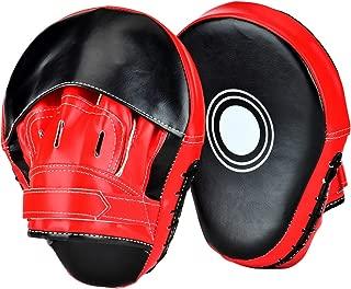 Mitones de perforaci/ón Esenciales de Boxeo MMA Almohadillas de Boxeo Almohadillas de Enganche y Almohadilla de MMA Target Focus Guantes de perforaci/ón Patada tailandesa Zyyini Almohadillas de Boxeo