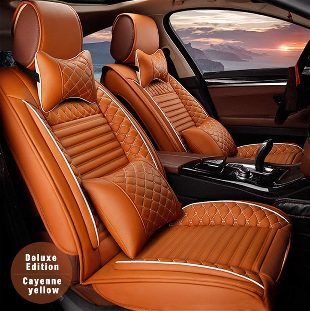 DBL Luxury Leather 2021 autumn and winter new Front Car Seat Covers Set for 2 National products Volvo Fit of
