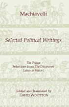 machiavelli selected political writings