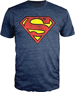 Superman Logo T-Shirt Officially Licensed