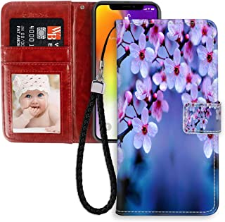 Cherry Blossom Wallpaper Phone Wallet Case Fit Apple iPhone 11 Pro (5.8