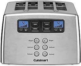 Cuisinart Toaster - 4-slice - Brushed - Leverless