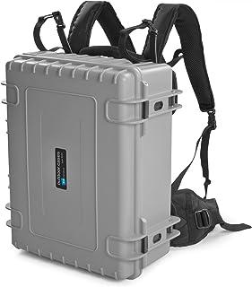 B&W outdoor.cases type 6000 met variabele vakindeling (RPD) incl. rugzaksysteem (BPS) - Het origineel