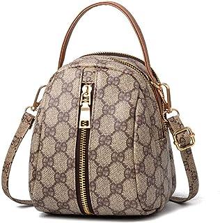 KNUS Small Shoulder Bag for Women Designer Crossbody Purse Leather Handbag