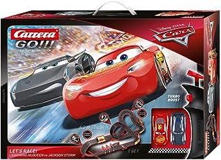 comprar comparacion Carrera-GO Circuito de Coches Disney Pixar Cars-Let's Race de 6.2 m, Escala 1:43, Multicolor (20062475)