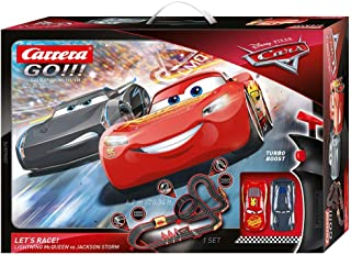 Carrera Go! Disney Lets Race Set, Red