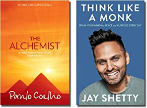 The Alchemist + Think Like a Monk (2 Books Combo )