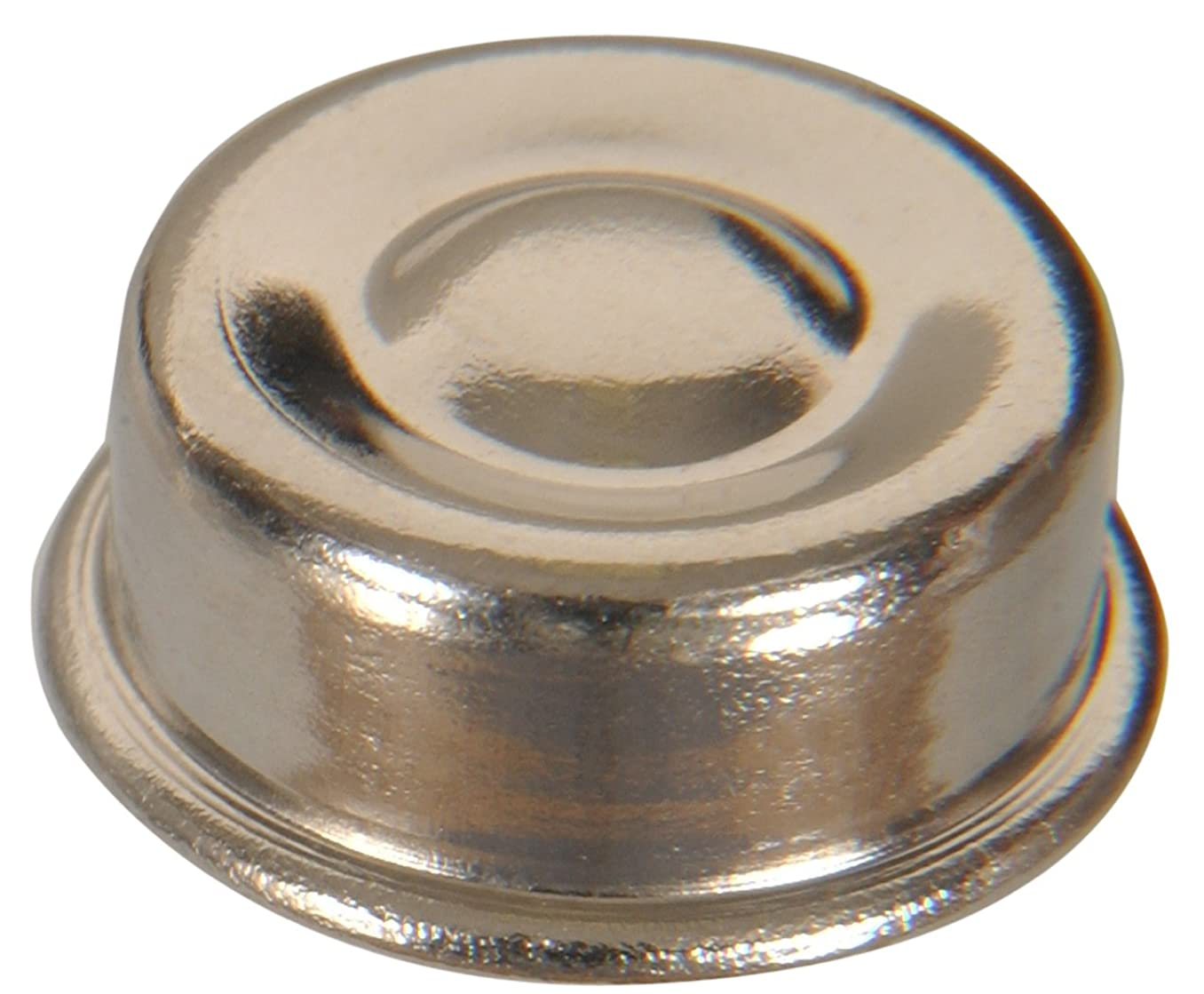 The Hillman Group 59407 Nickel Push Nut, 3/8-Inch, 20-Pack