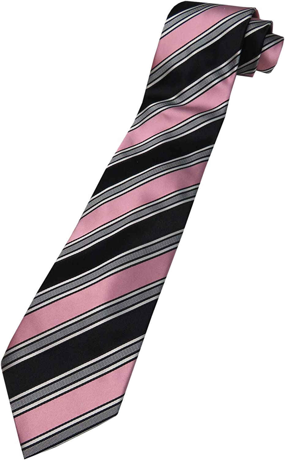 Donald Trump Neck Tie Black and Pink with Gold Emblem