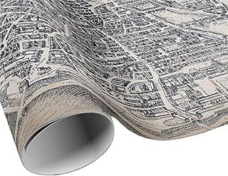Vintage Plan de Paris Gift Wrap Sheets - Paris France City Map Wrapping Paper - Gift Paper - Craft Decoupage Paper - Collage Paper
