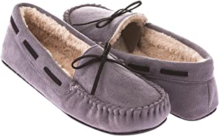 43409b49dd0 FREE Shipping on eligible orders. Seranoma Women s Slip-On Faux Fur Lined  Flats Moccasin Slipper