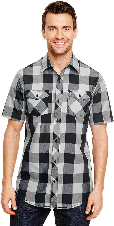 Burnside Buffalo Plaid Woven Shirt (B9203)