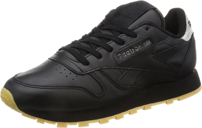 Reebok Damen Classic Leather Met Diamond Laufschuhe  | Sonderkauf  | Sorgfältig ausgewählte Materialien
