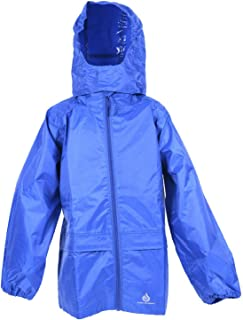 DRY KIDS - Packable Jacket 11-12 Yrs Royal Blue