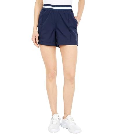 PUMA Golf Elastic Shorts (Navy Blazer) Women