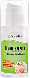 NaturalSlim Femme Balance Cream, Formulated by Metabolism and Weight Loss Specialist- Natural Help to Any Weight Loss Attempt for The Accumulation of Fat in The Abdomen and Thigh Areas in Women