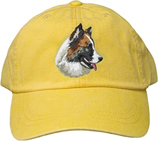 Lemon Dog Breed Embroidered Adams Cotton Twill Caps (All Breeds)