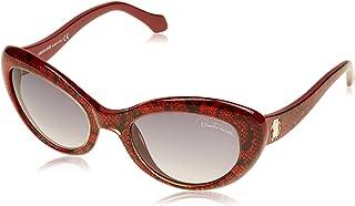 Roberto Cavalli Round Sunglasses for Women, Grey, RC826S-69T-54-21-135
