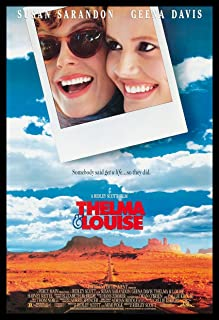 Thelma and Louise Fridge Magnet Classic Movie Poster 6 X 8