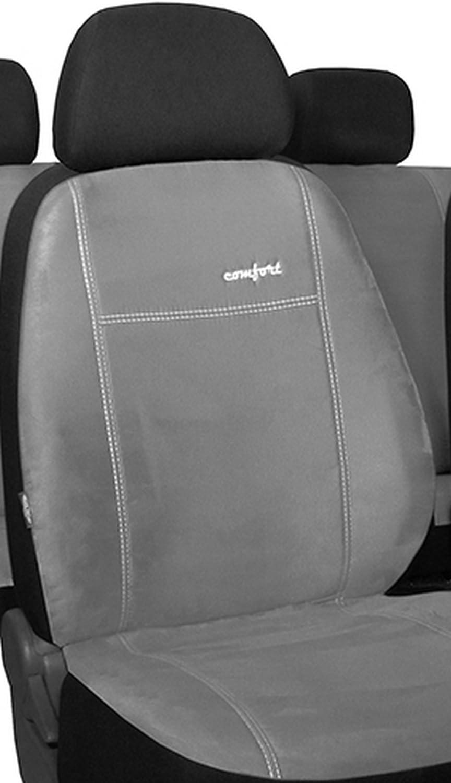 Pokter Alc T5 Caravelle 5 Sitzer Maßgefertigte Sitzbezüge Comfort Ziegelrot Auto