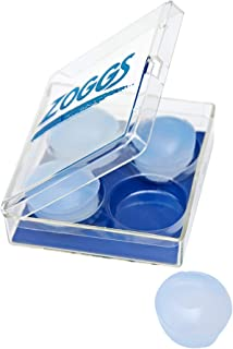 Zoggs Ohrstöpsel Silicone Ear Plugs-Clear, Natacion, Transparente, 1