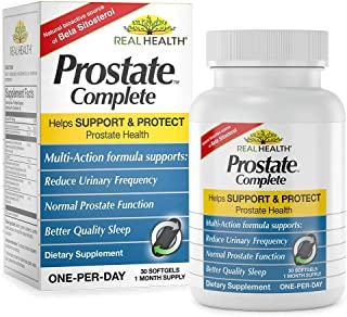 Real Health Prostate Complete, 30 Softgels