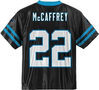 Outerstuff Christian McCaffrey Carolina Panthers #22 Black Youth Home Player Jersey