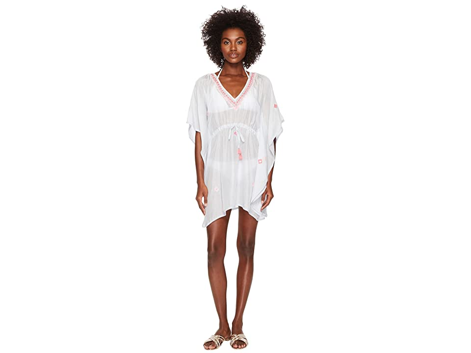 Letarte Embroidered Cover-Up (Light Grey) Women