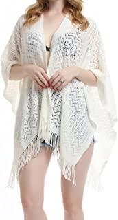 Best ladies knitted shawl wrap Reviews