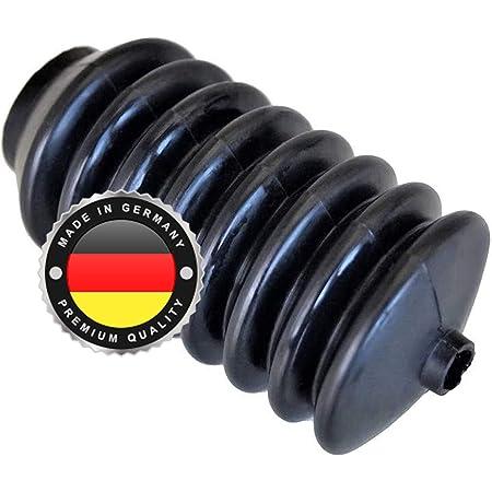 Ws System 2x Universal Faltenbalg Aus Gummi 2 Stk Flexible Dehnbare Achsmanschette Made In Germany Aus Hochwertigem Pvc Schelle In Größe L 65mm 115mm Ø 10mm 33mm Auto