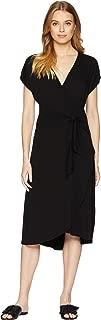 Michael Stars Womens Rylie Rayon Tie Waist Dress