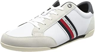Tommy Hilfiger Herren Corporate Material Mix Leather Sneaker