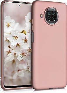 kwmobile telefoonhoesje compatibel met Xiaomi Mi 10T Lite - Hoesje voor smartphone - Back cover in metallic roségoud