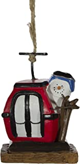Midwest-CBK S'Mores Skier in Gondola Christmas/Everyday Ornament