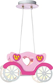 Am - Light Plafonnier moderne pour enfants - Suspension en forme de véhicule - Décoration de chambre d'enfant (voiture)