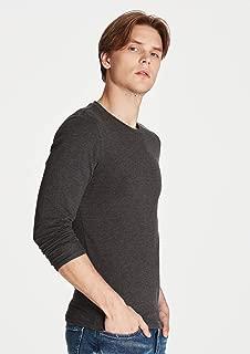 Uzun Kollu Gri Basic Tişört