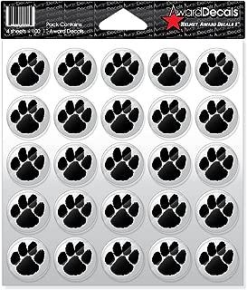 Award Decals Paw (100 Stickers)