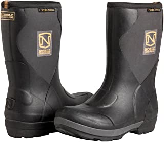 Noble Outfitters Women's Muds Stay Cool Mid Waterproof Boot Black 3.5