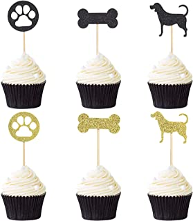 Best dog bone cupcake toppers Reviews