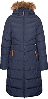Audrey Womens Padded Longer Length Casual Jacket