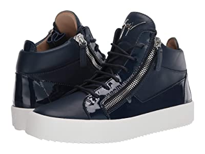 Giuseppe Zanotti May London Mid Top Zayn Sneaker (Space) Men