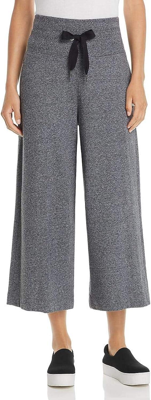 women Karan Womens Heathered Cropped Sweatpants