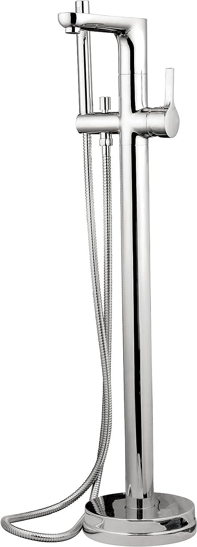 Eisl Wannenfüll-Armatur Cellino,Standarmatur, Wannenarmatur, Bodenarmatur, freistehend für Bodenmontage, Chrom, 1360101